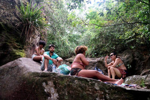 cachoeira pedra redonda