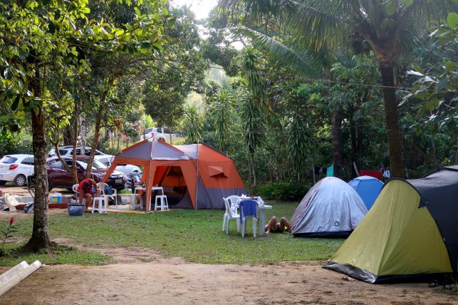 camping do mágico