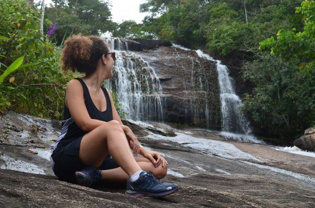cachoeira barra azul em bonito, em pernambuco