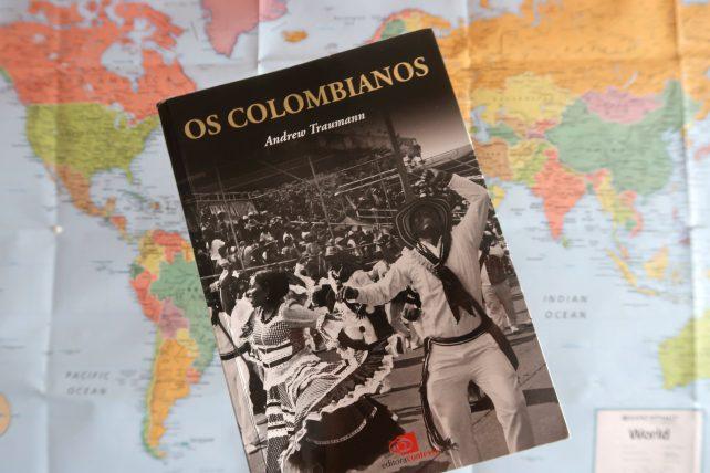 capa do livro os colombianos