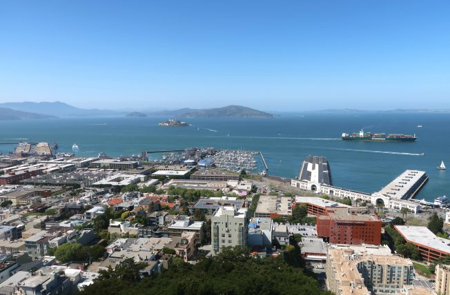 vista da coit tower