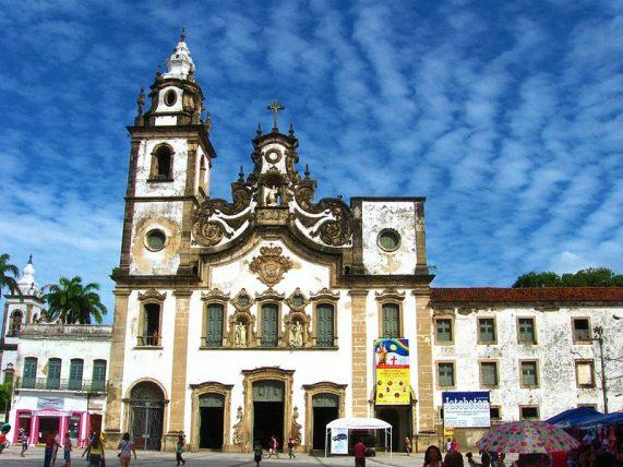 Basílica e Convento de Nossa Senhora do Carmo - foto de Rodrigo Jordy, Creative Commons