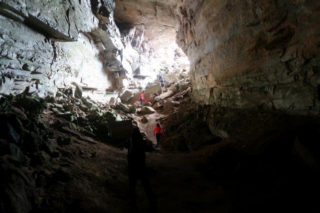 gruta do morro do castelo