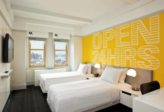 quarto do hotel row nyc