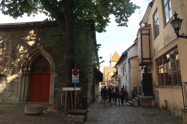 entrada da katariina kirk