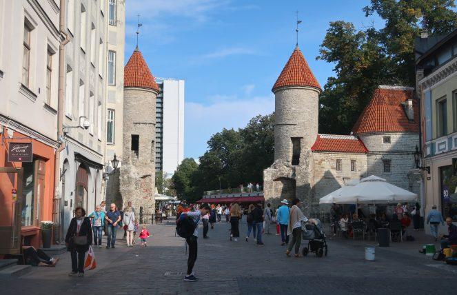 muros do centro histórico de tallinn
