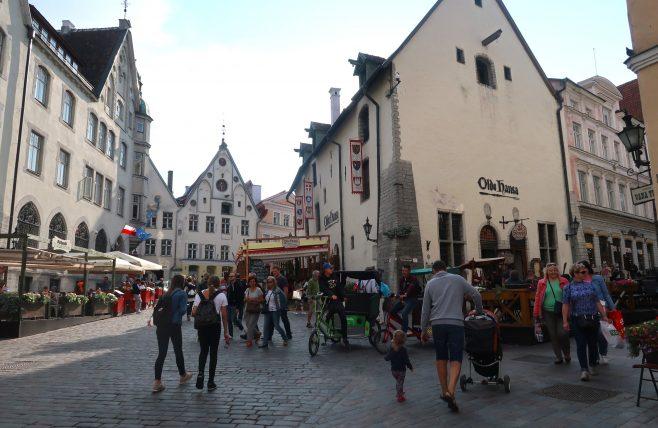fachada de restaurante medieval