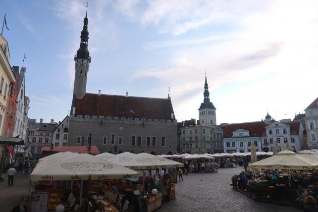 vista da praça da prefeitura