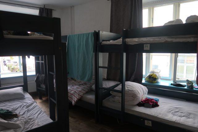 quarto de hostel em tallinn