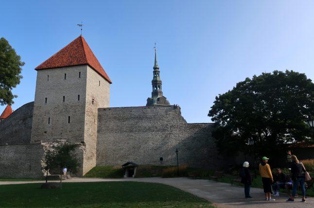 muros ao redor do centro histórico