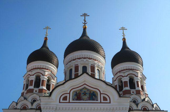 topo da igreja ortodoxa