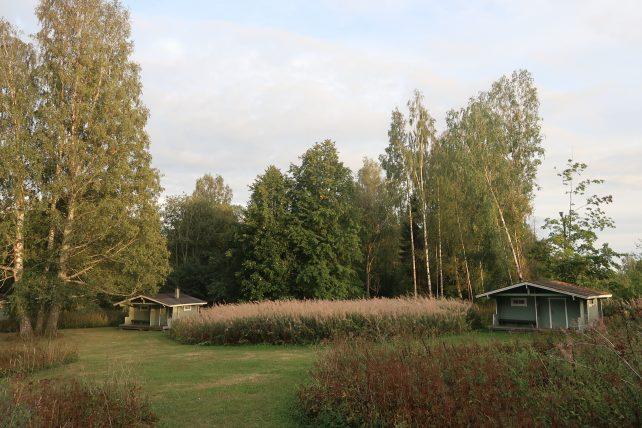cabanas à beira do lago saimaa
