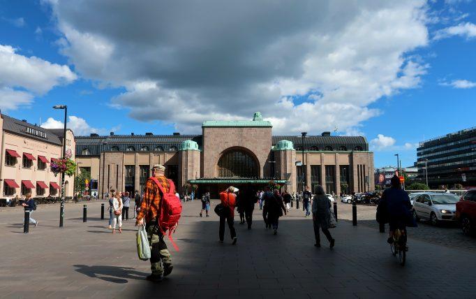 estação central de trens de helsinque