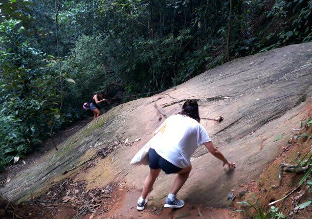 motivos para fazer trilhas - cachoeira do chuveiro