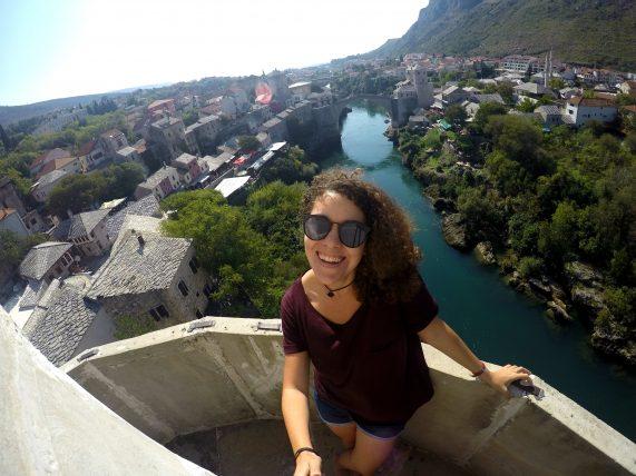 viajando só pela bósnia