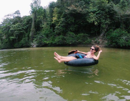 tubing no rio palomino