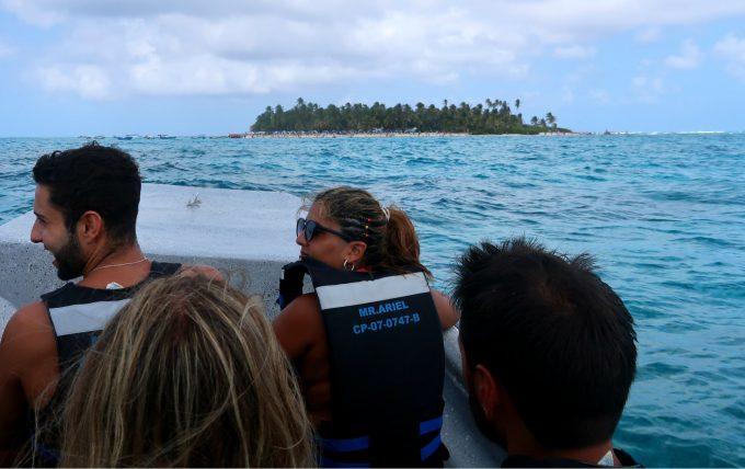 passeio de barco em san andrés
