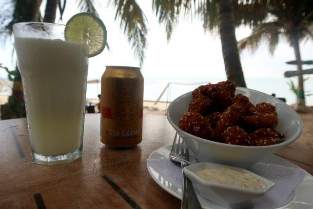 petiscos e bebidas em san andrés