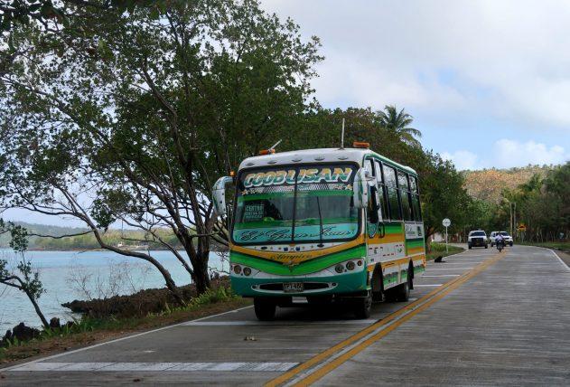 ônibus em san andrés
