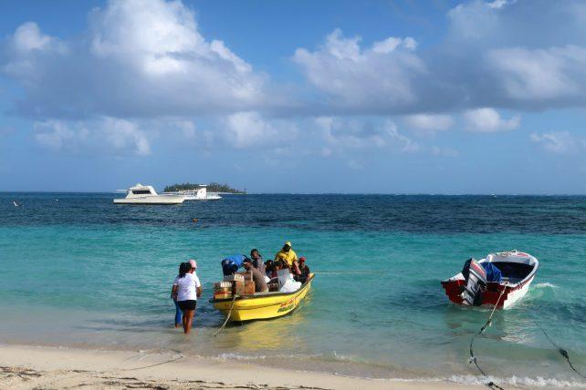 barco para el acuario