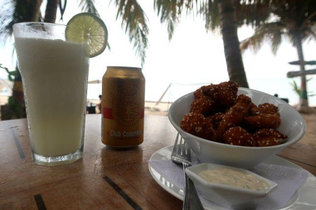 petiscos na praia cocoplum