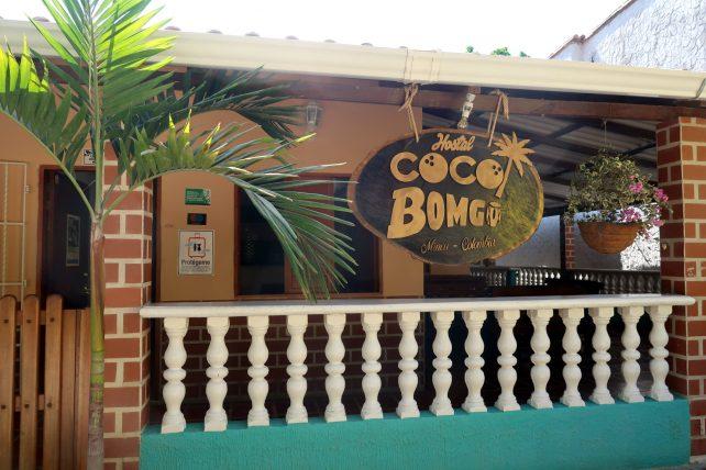 hostel coco bomgo em minca