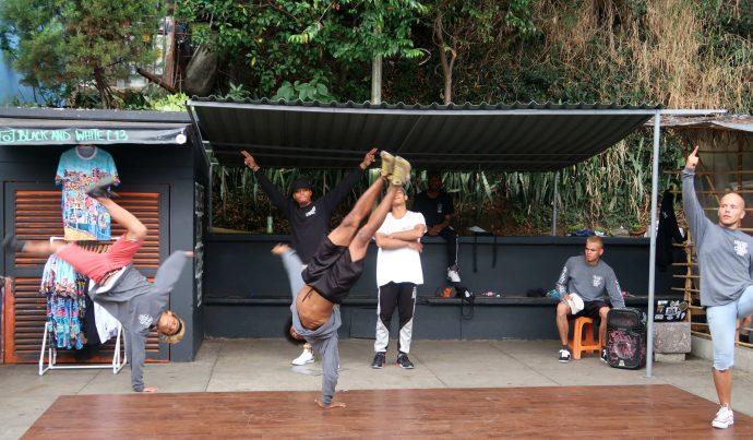 break dance na comuna 13