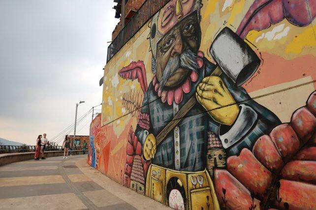 grafite na comuna 13