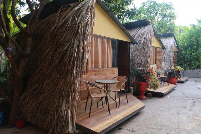 onde se hospedar em minca: bangalôs do hostel