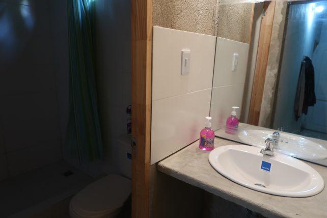 banheiro do quarto coletivo