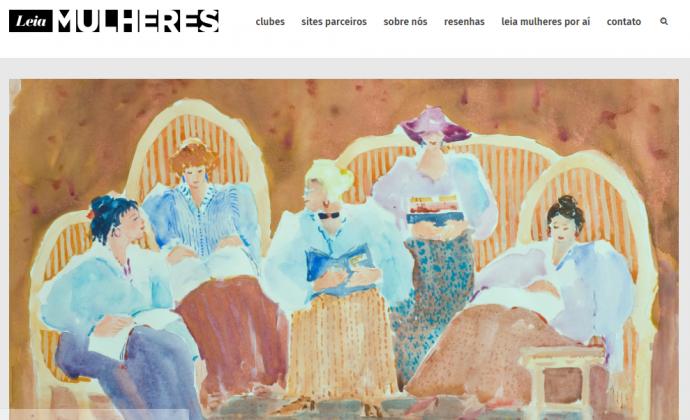 site do projeto leia mulheres