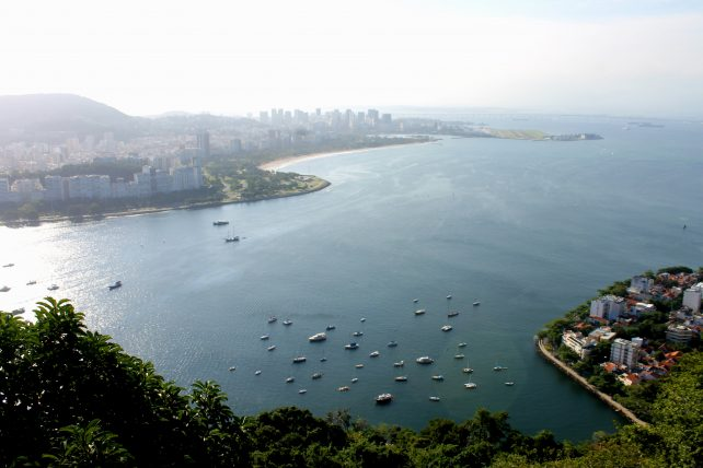 vista do morro da urca