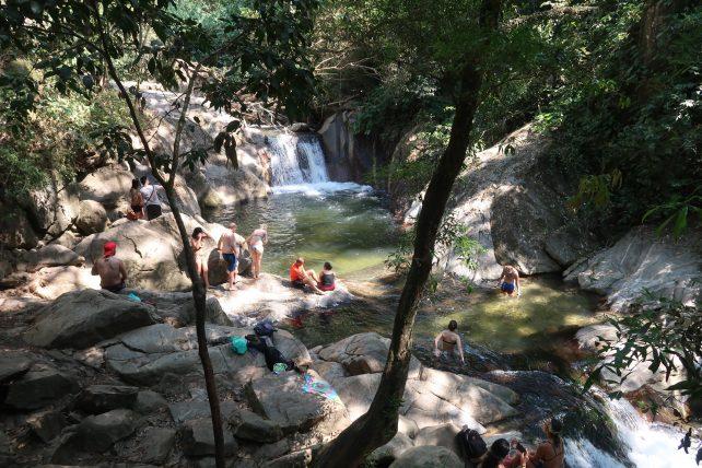 cachoeira em minca