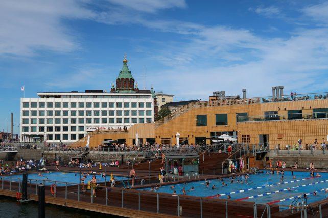 piscinas a céu aberto em helsinque