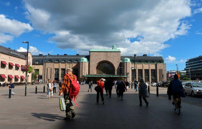 estação de trens