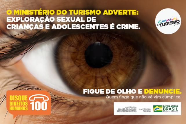 campanha contra o turismo sexual infantil