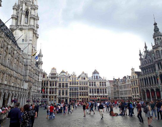 viajar sozinha para a europa - bruxelas