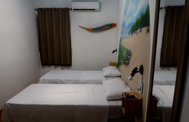 quarto privativo no local hostel em manaus