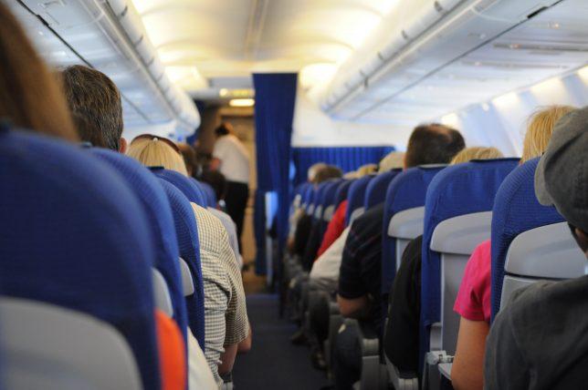 avião na europa