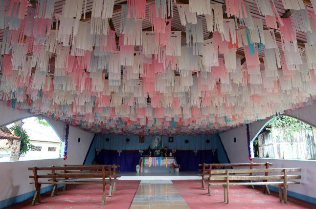 igreja na comunidade de nova esperança
