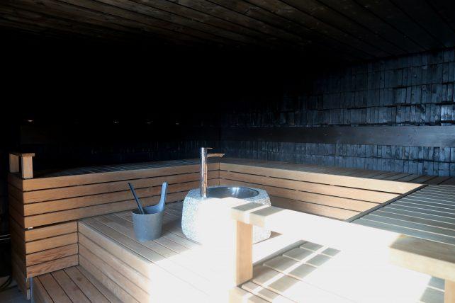 sauna em empresa em helsinque