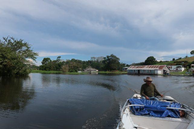 o que fazer em manaus - passeio de barco