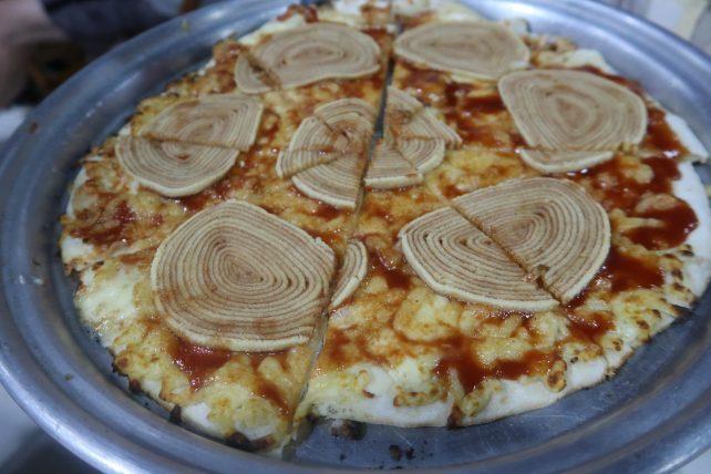 turismo alternativo no recife - pizza de bolo de rolo no boi voador