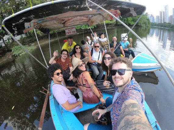 turismo alternativo no recife - passeio de barco