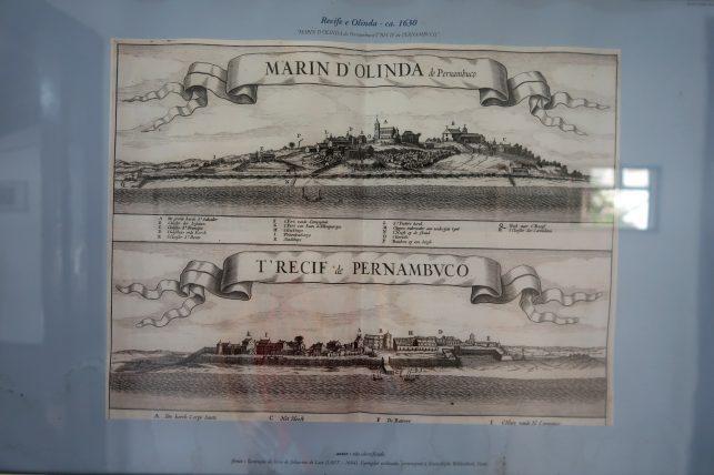 gravuras antigas de Recife e Olinda