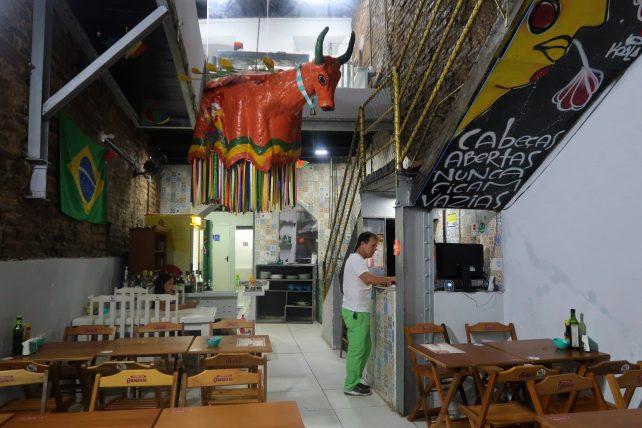 restaurante no recife - boi voador