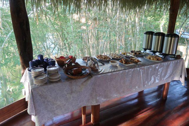chá da tarde no hotel