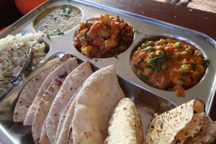quanto custa viajar pela índia - alimentação