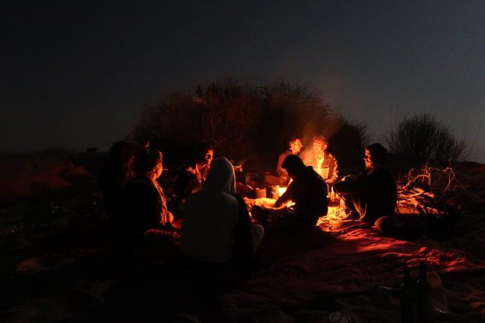 roteiro pela índia - noite no deserto