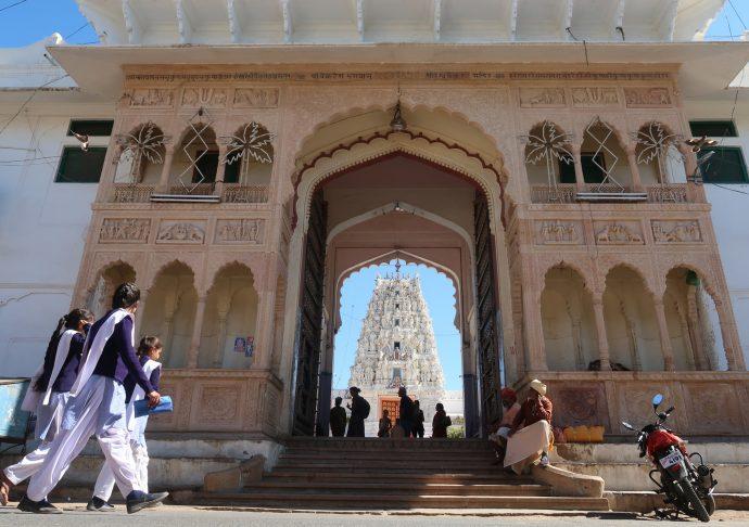 templo em pushkar